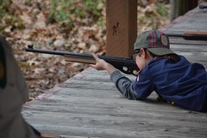 Sharpshooter at BB Range